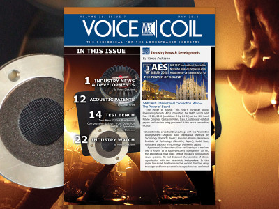 Your Voice Coil May 2018 Issue Is Now Available!