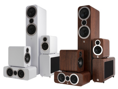 Q Acoustics Introduces New Premium Design 3000i Loudspeaker Series