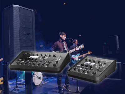 Bose Professional Introduces T8S and T4S ToneMatch Stereo Mixers