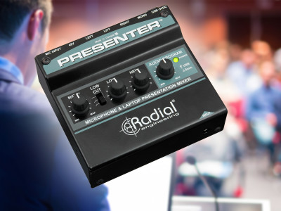 Radial Presenter Compact Mixer and Interface is Now Shipping