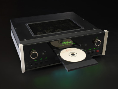 McIntosh Announces Luxury Music Streamer and New Flagship CD/SACD Player