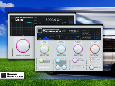 Sound Particles Expands Creative Tools with the Release of Doppler and Air Plugins