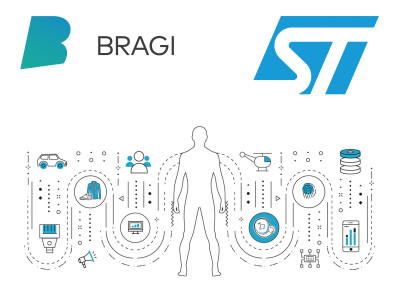 Bragi Joins STMicroelectronics Partner Program with Bragi Intelligent Edge