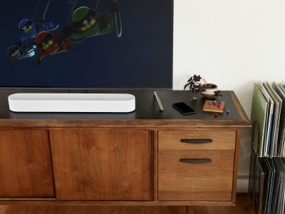 Sonos Announces Sonos Beam Smart Soundbar for TV and Music