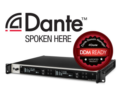 Sennheiser Wireless Now Dante Domain Manager Ready
