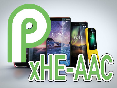 Fraunhofer's xHE-AAC Audio Codec Software Extends Native AAC Support In Android P For Better Quality At Low Bitrates