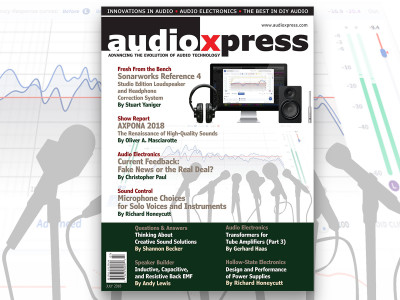 audioXpress July 2018 is Now Online and You Don't Want to Miss This One!