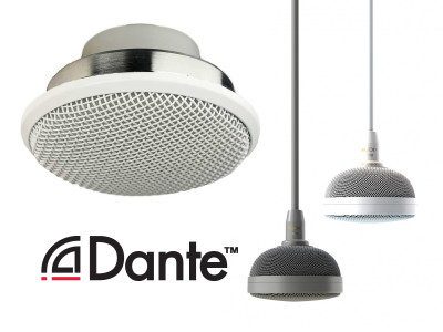 Audix Introduces New Installation Microphones and Network Options for Ceiling Mics