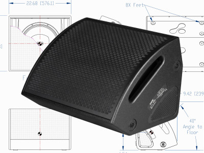 Fulcrum Acoustic Unveils the World's First Cardioid Coaxial Stage Monitor
