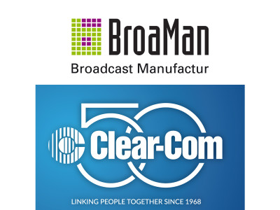 BroaMan Appoints Clear-Com as USA Distributor