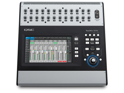 QSC Adds Automatic Microphone Mixing to TouchMix-30 Pro Digital Mixer