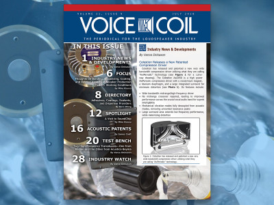 Get the Loudspeaker Focus You Need with Voice Coil July 2018
