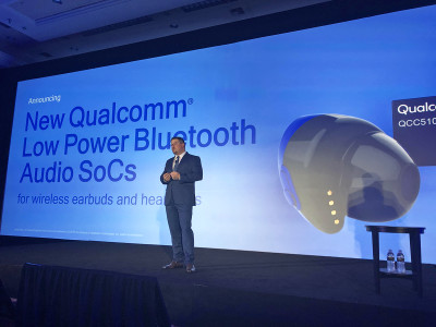 New Qualcomm QCC3026 Bluetooth Audio System-on-Chip Now Available