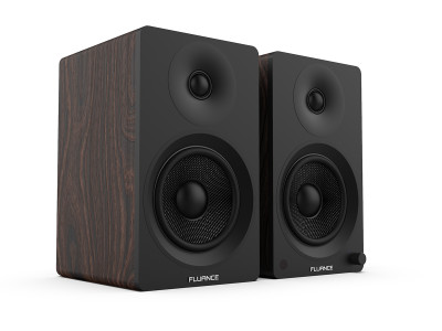 Fluance Most Affordable Ai40 Powered Bookshelf Speakers with Bluetooth