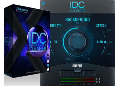 Audionamix New Instant Dialogue Cleaner Plug-In Separates and Preserves Speech