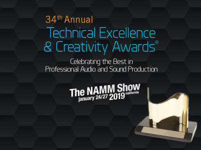 Nominees for 34th Annual NAMM TEC Awards Announced