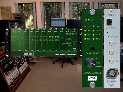 Waves Audio SoundGrid Network Technology now available for Burl Audio Mothership Series