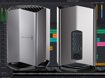 Blackmagic Design and Apple Announce Thunderbolt 3 Acceleration with Blackmagic eGPU