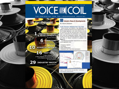 Double Down: Voice Coil Focuses on Voice Coils for August 2018