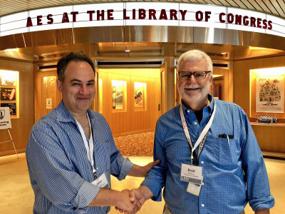 AES Hosts Highly Successful Conference on Audio Archiving, Preservation & Restoration at the Library of Congress