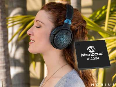 Microchip Announces New Bluetooth Audio SoC for High-Resolution Audio Devices Using Sony's LDAC Technology