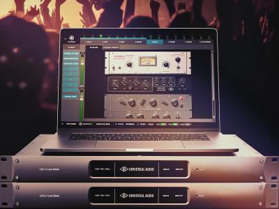 Universal Audio Ships UAD-2 Live Rack MADI Effects Processor