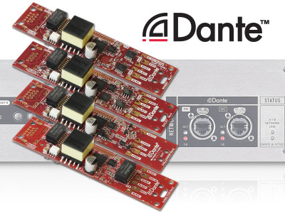 Audinate Announces New Production-Ready Dante Adapter Module Family