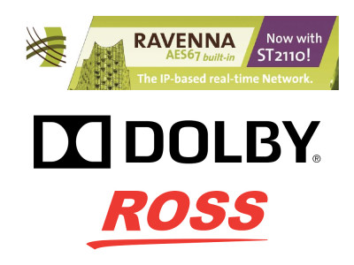 Dolby and Ross Video Extend RAVENNA AoIP Partnership at IBC 2018