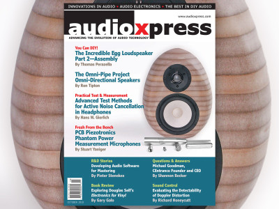 Learn, Plan, and Build with audioXpress October 2018