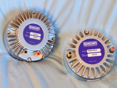 Test Bench: Radian Audio Engineering 950PB and 760NEOPB Compression Drivers