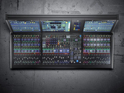 Lawo Redefines Audio Production with Third-Generation mc²56 Production Consoles