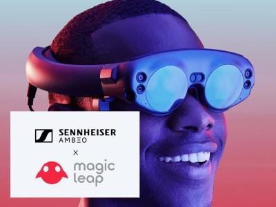 Sennheiser and Magic Leap Partner For Spatial Computing Applications