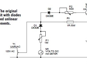 Linear AC Measurements Using a Diode