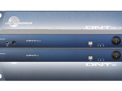 Lectrosonics now shipping DNT16i and DNT0212 audio processors with Dante