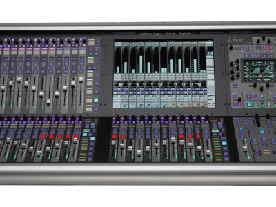 Solid State Logic showcases its Live Console with V2 software