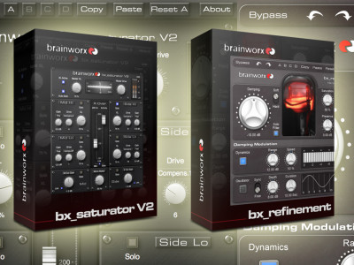 Two New Plug-ins from Brainworx Refine and Saturate Even Better