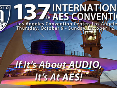 The Audio Engineering Society goes to Los Angeles October 9-12