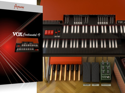 Arturia Recreates the Famous VOX Continental Organ