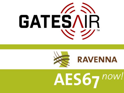 GatesAir enters into RAVENNA partnership