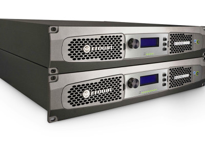 Crown DCi Network Display Amplifiers Are First AVnu Alliance Certified AVB Endpoint