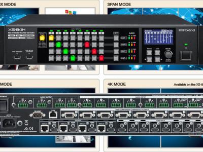 RSG Announces XS Series of Multi-Format AV Matrix Switchers