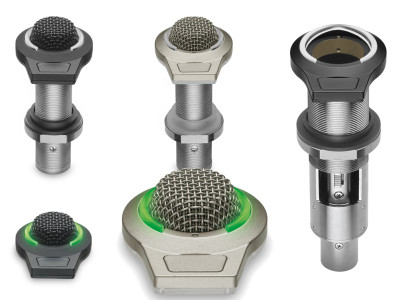 Audio-Technica New ES945/LED and ES947/LED Boundary Microphones