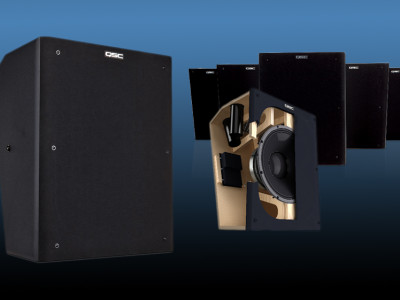 New Immersive Surround Loudspeaker from QSC Audio