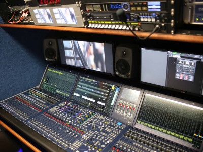Brazil's first 4K OB truck equipped with Lawo and RAVENNA IP technology