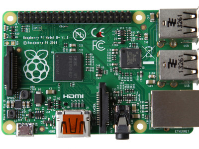 New Raspberry Pi Model B+ with Better Audio