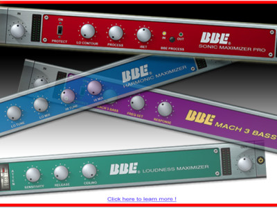 """BBE Sound Releases Sonic Sweet V. 3.0 """"Optimized"""" with Additional """"Mach 3 Bass"""" Enhancer Plug-In"""