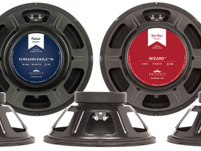 Eminence Redesigns the Legends, Patriots and Redcoats Speakers
