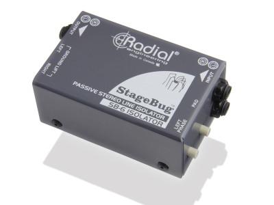 Radial StageBug SB-6 Compact Stereo Isolator Now Shipping