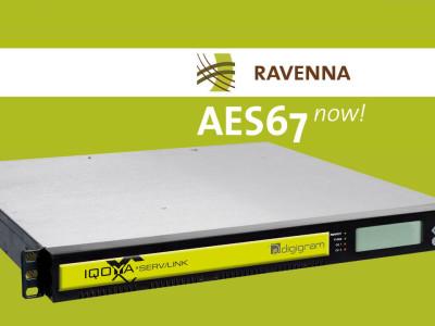 Digigram to Showcase RAVENNA/AES67 Compatibility at IBC2014
