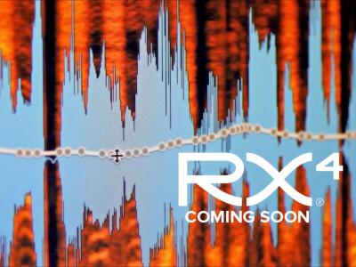 iZotope Announces RX 4 and RX 4 Advanced